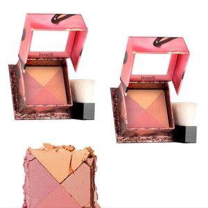 2 x Benefit Cosmetics BNIB Mini Sugarbomb Blush